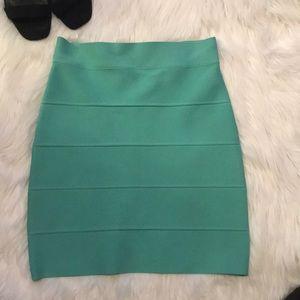 BCBG MaxAzria Simone textured power skirt